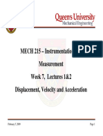 MECH215-Week07Lecture1and2-DisplacementVelocityandAcceleration.pdf