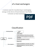 Heat Exchangers Design
