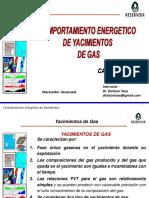 Comportamiento Energetico de Yacimientos de Gas Seco y Condensado