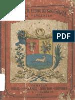 Primer Libro de Geografia de Venezuela 1877