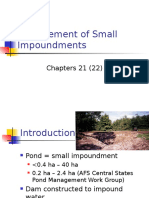 Management of Small i Mound Ments 4
