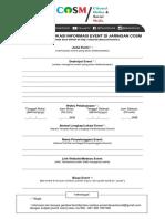 Formulir Publikasi Informasi Event