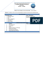 Database Agenda 3.4.17