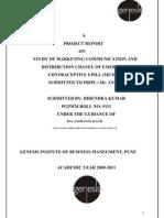 summer interns report on i- pill marketing communication