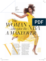 The Woman Who Gave the NBA a Makeover Rachel Johnson September 2011
