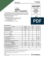 Datasheet Transistor Ultrasonido Inyectores Centauro 50