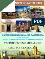 01.- Aspectos Generales Sobre Yacimientos No Metalicos