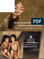 Library services for indigenous societies in Latin America