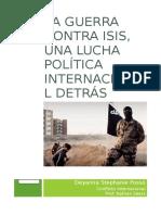 Ensayo Final Conflicto Internacional (Modelo)