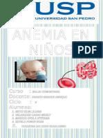 Anemia Salud Comunitaria