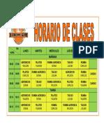 Horario Gym