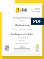 PMI Accredited - Project Management for Team Members