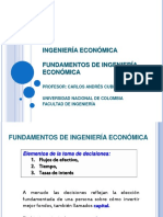IE0-Fundamentos de Ingenieria Economica