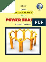 Unit-1_Power Sharing (Students Manual)
