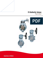 Flowserve TX Triple Off-Set Valves