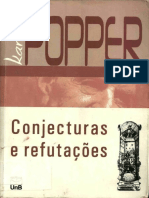Conjecturas e Refutações. Karl Popper 2008