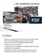 Case Study on HudHud Cyclone