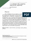 Expectativas e Crenças Dos Usuários Sobre as Cooperativas Agrárias ALBUQUERQUE