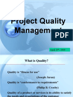 Project Quality Management(1)
