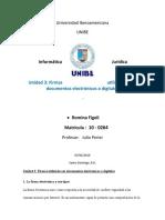 Unidad3 Firmas utilizadas en documentos electrónicos o digitales
