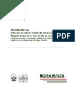 Informe de Supervisión Comisarías Ley 30364