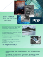 photographer research project pg