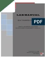 Heat Transfer Operation-I Manual 2015-16