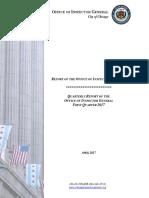 OIG Quarterly Report