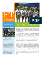 ft update - march 2015