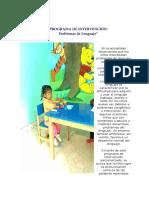 (1)Programa de Intervencion Raquel