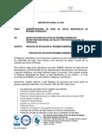 Instructivo 1.Afiliaciones Regimen Subsidiado