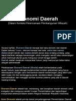 7 DPPW Otonomi Daerah