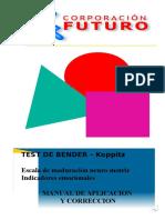 Manual de Aplicación test de Bender