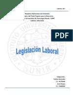 Legislación Laboral.