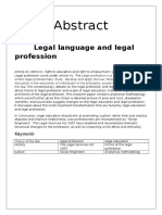Legal Abstract