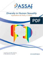 Diversity in Sexuality - Implications for Policy in Africa