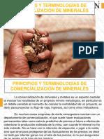 Principios y Terminologías de Comercialización de Minerales