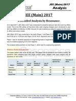 JEE Main 2017 Detailed Analysis Resonance v1