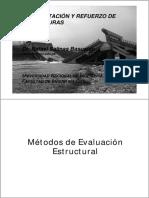 Métodos de Evaluación - Reforzamiento Estructural