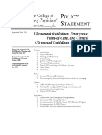 Ultrasound Guidelines Entire
