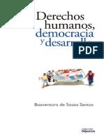 Boaventura- Derechos Humanos Democracia y Desarrollo.pdf