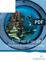 0E039 Safety Services for Underwater Technology