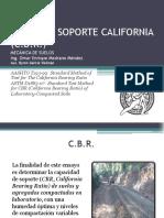 Relación Soporte California Cbr