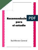 SEM - Recomendaciones Para El Estudio