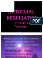 Artificial Respiration by Suvec