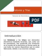 Tiristores y Triacs