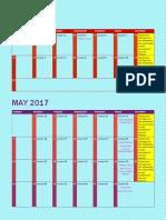 6b pacing calendar