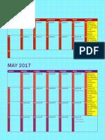 7a pacing calendar