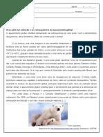 Atividade de Portugues Sobre Sujeito Composto 9º Ano Word