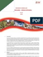Propuesta Curricular Agropecuaria Granja Integral
